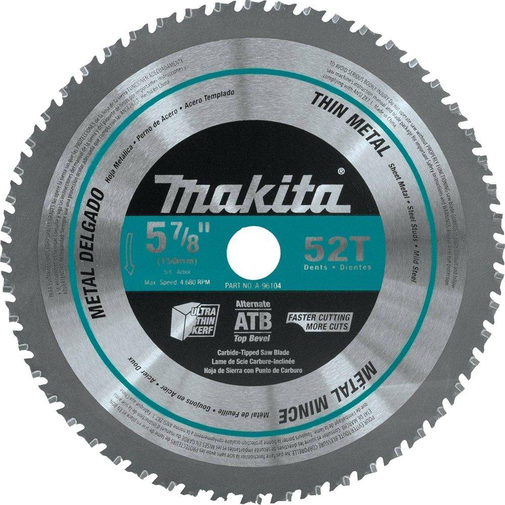 Makita 5 78 in 52 teeth thin metal carbide tipped saw blade a 52 teeth thin metal carbide tipped keyboard keysfo Image collections