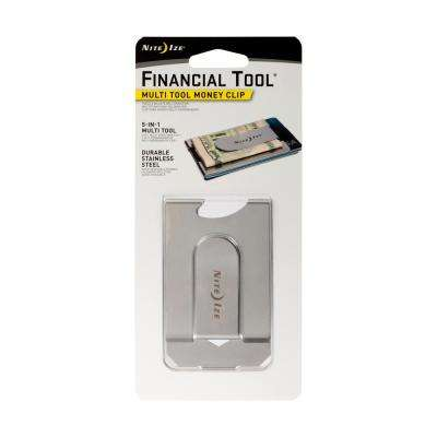 Financial Tool - Multi-Tool Money Clip