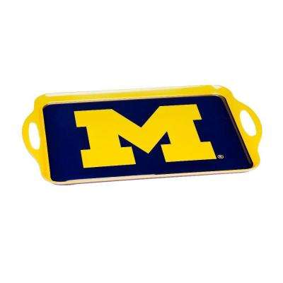 NCAA Michigan Wolverines Melamine Serving Tray