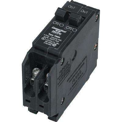 15-Amp Twin Single-Pole Circuit Breaker