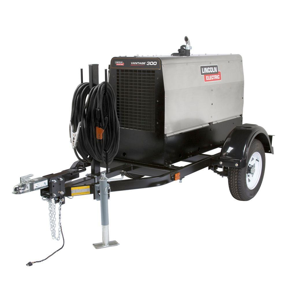 400 Amp Stainless Vantage 300 Diesel Engine Driven Welder (Kubota) Ready-Pak