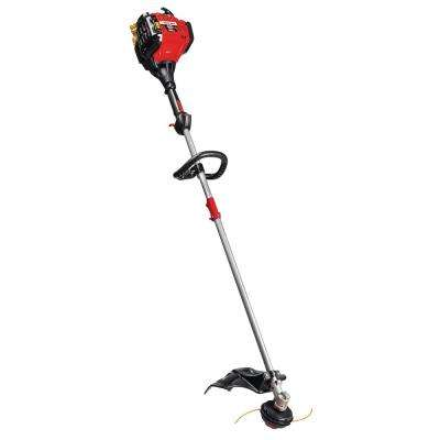 30 cc 4-Cycle Straight Shaft Attachment Capable Gas Trimmer with JumpStart Capabilities