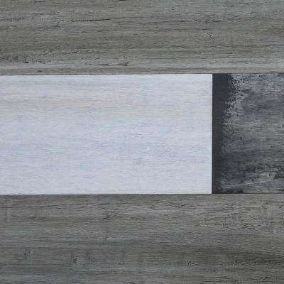 Strand Woven Gravel Road 3/8 in. T x 5-1/8 in. W x 72-1/2 in. L Click Bamboo Flooring (25.75 sq. ft.)
