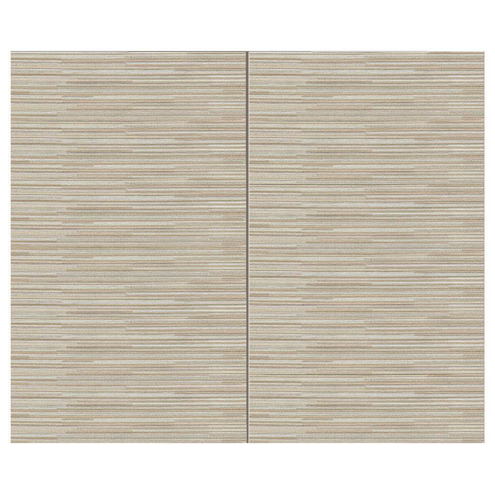 SoftWall Finishing Systems 44 sq. ft. Ivory Fabric Covered Top Kit Wall Panel