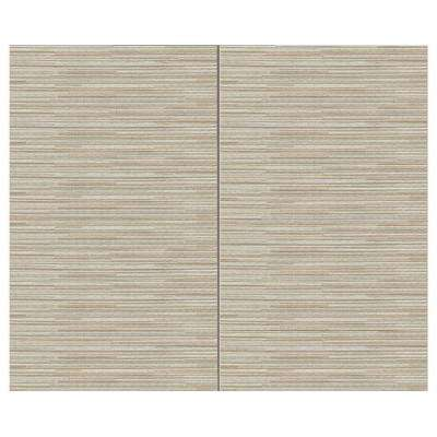 44 sq. ft. Ivory Fabric Covered Top Kit Wall Panel