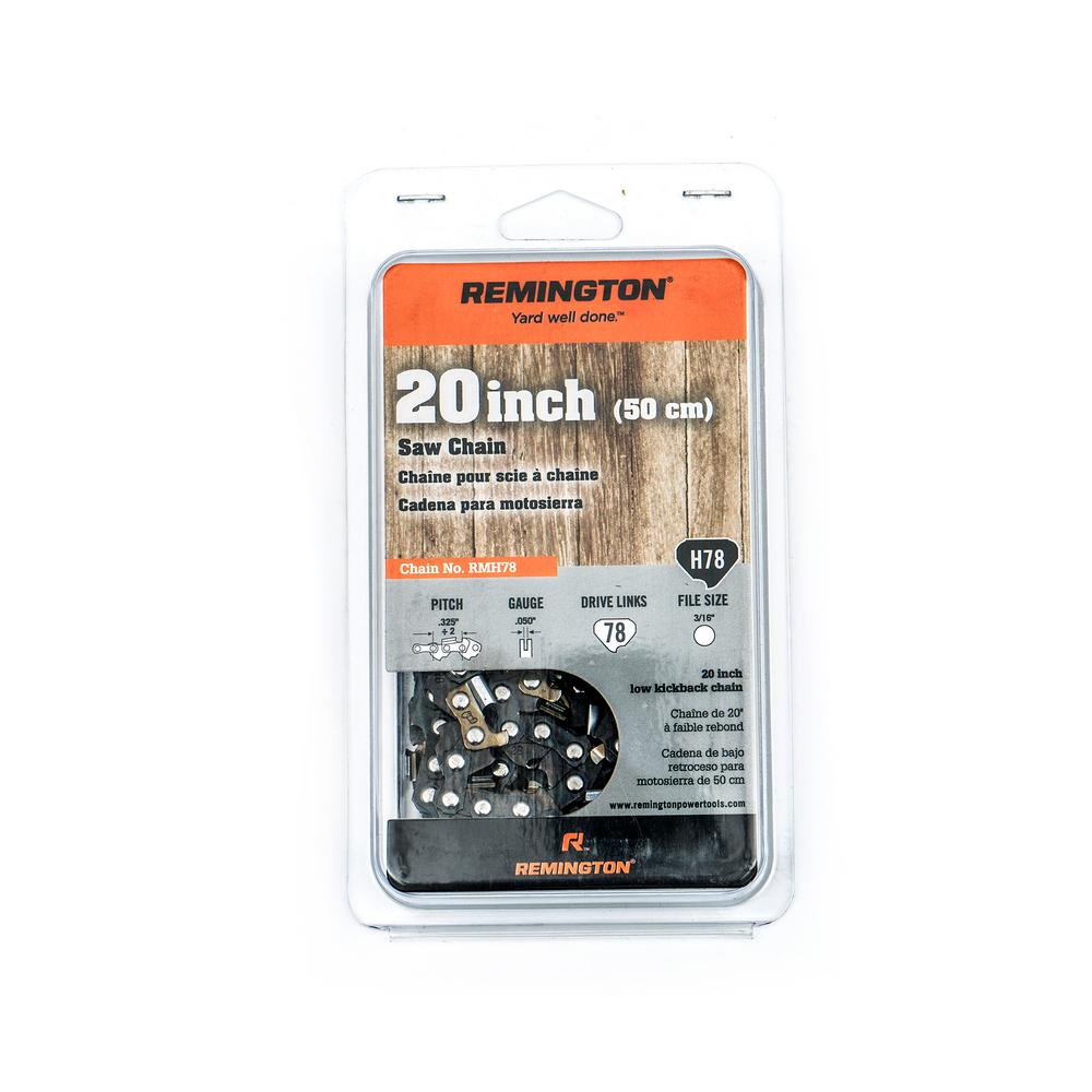Remington 20 in chainsaw chain 490 700 r079 the home depot remington 20 in chainsaw chain keyboard keysfo Choice Image