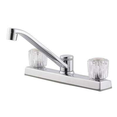 Millbridge 2-Handle Standard Kitchen Faucet in Polished Chrome