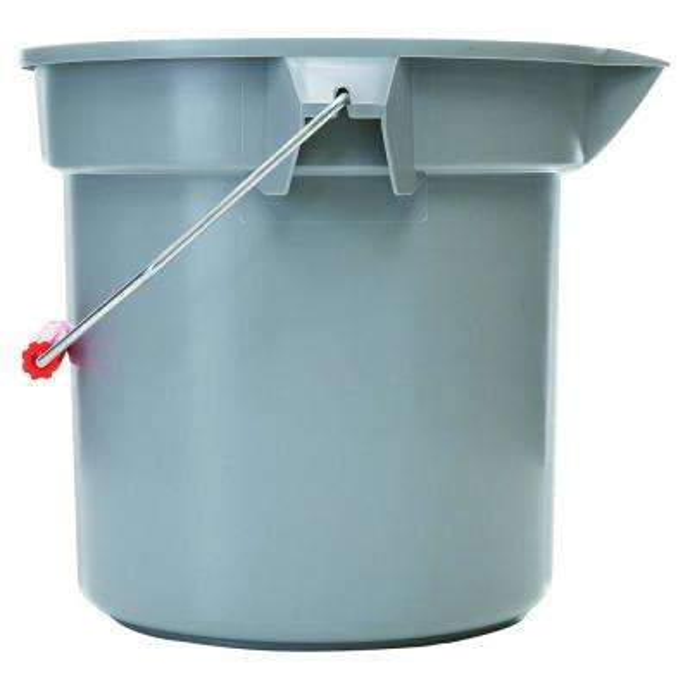 Brute 3-1/2 Gal. Gray Plastic Bucket