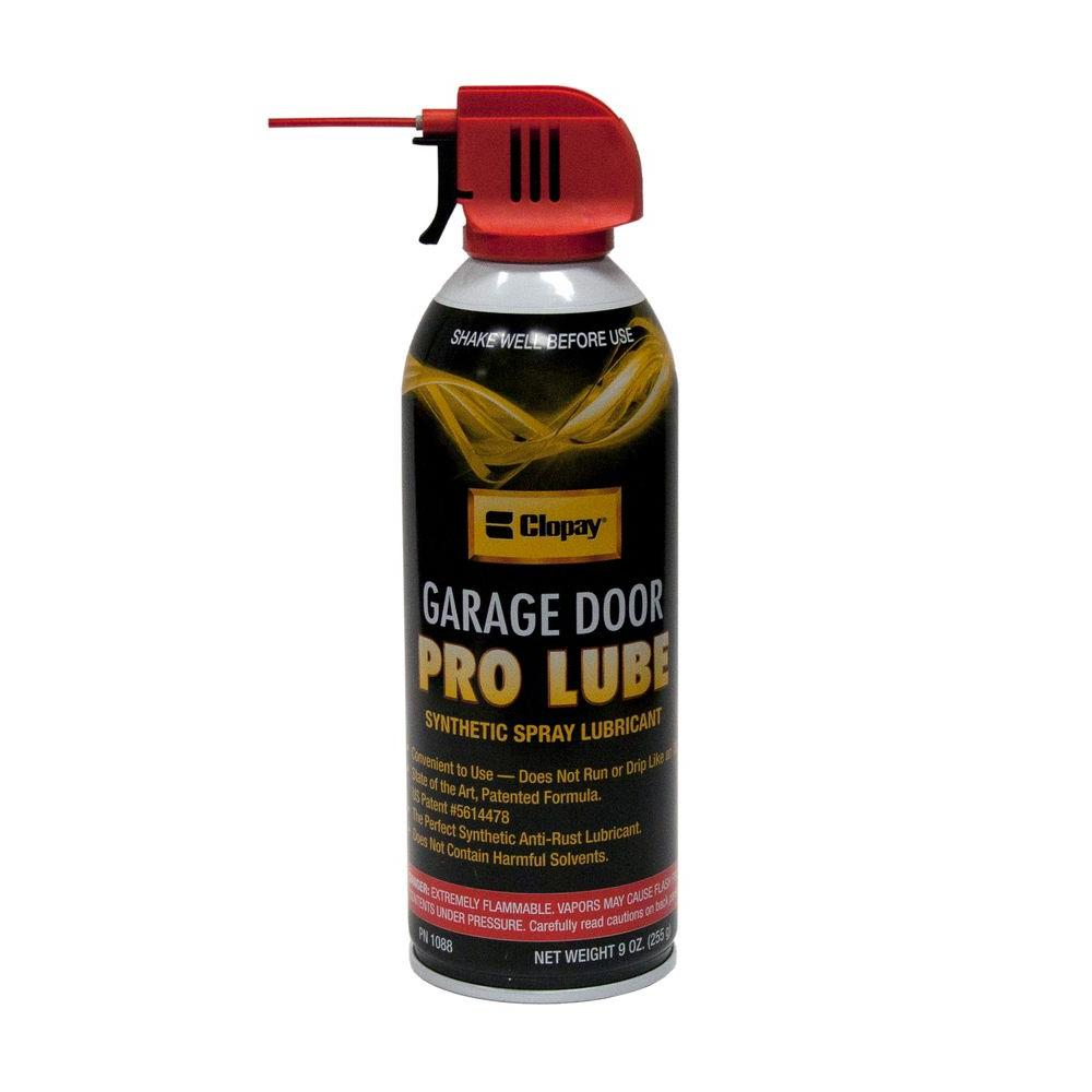Clopay Synthetic Pro Lube For Garage Doors 4128043 The Home Depot
