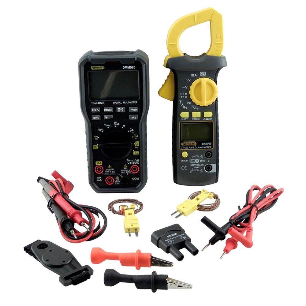 The Best Hvac Clamp Meter : General tools hvac dmm kit with digital multimeter