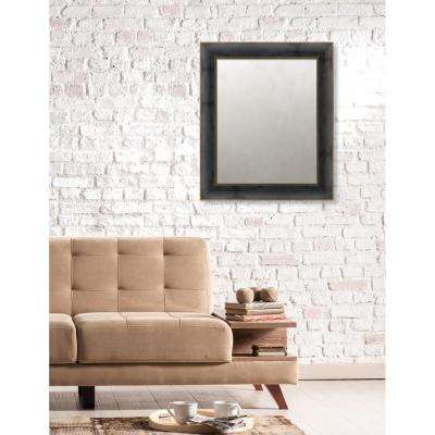 Acadia 21 in. x 25 in. Transitional Framed Antique Mirror