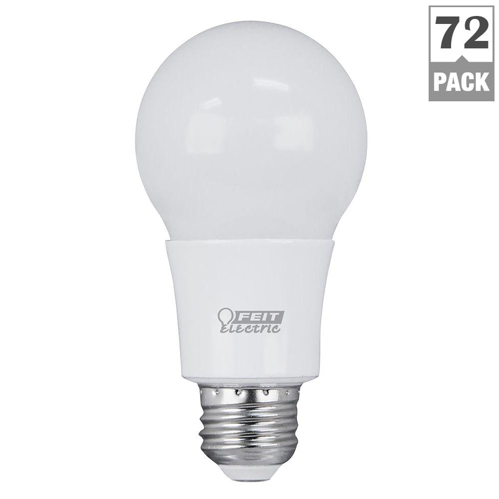 Feit Electric 40w Equivalent Soft White 2700k T10: Feit Electric 60W Equivalent Soft White (2700K) A19