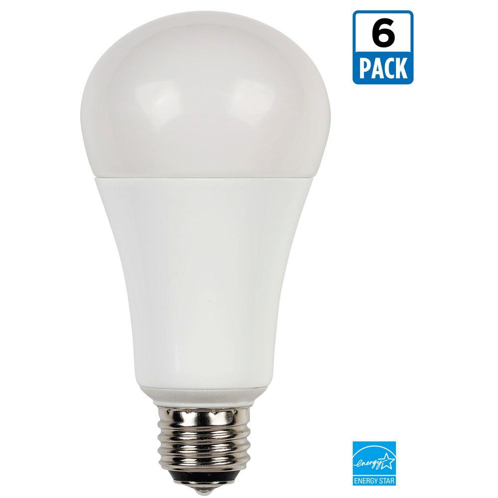 westinghouse 30 60 100 watt equivalent warm white 2 700k a21 3 way led energy star light bulb. Black Bedroom Furniture Sets. Home Design Ideas