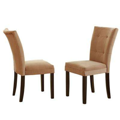 Matinee Camel Parsons Chair (Set of 2)