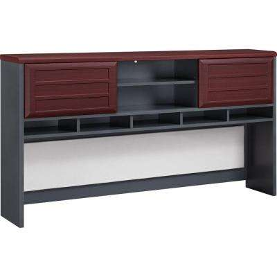 Mansfield Cherry and Gray Hutch