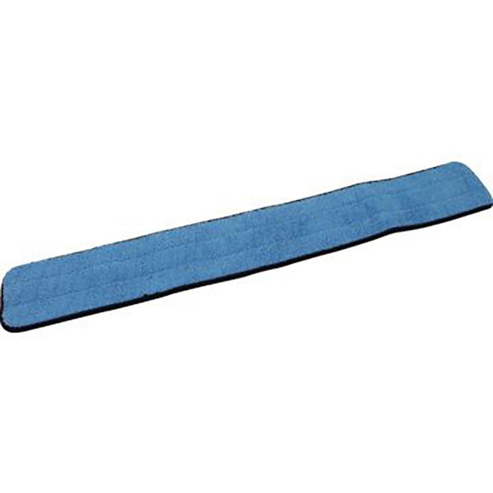 36 in. Looped Blue Microfiber Damp/Dry Mop Pad (3-Pack)