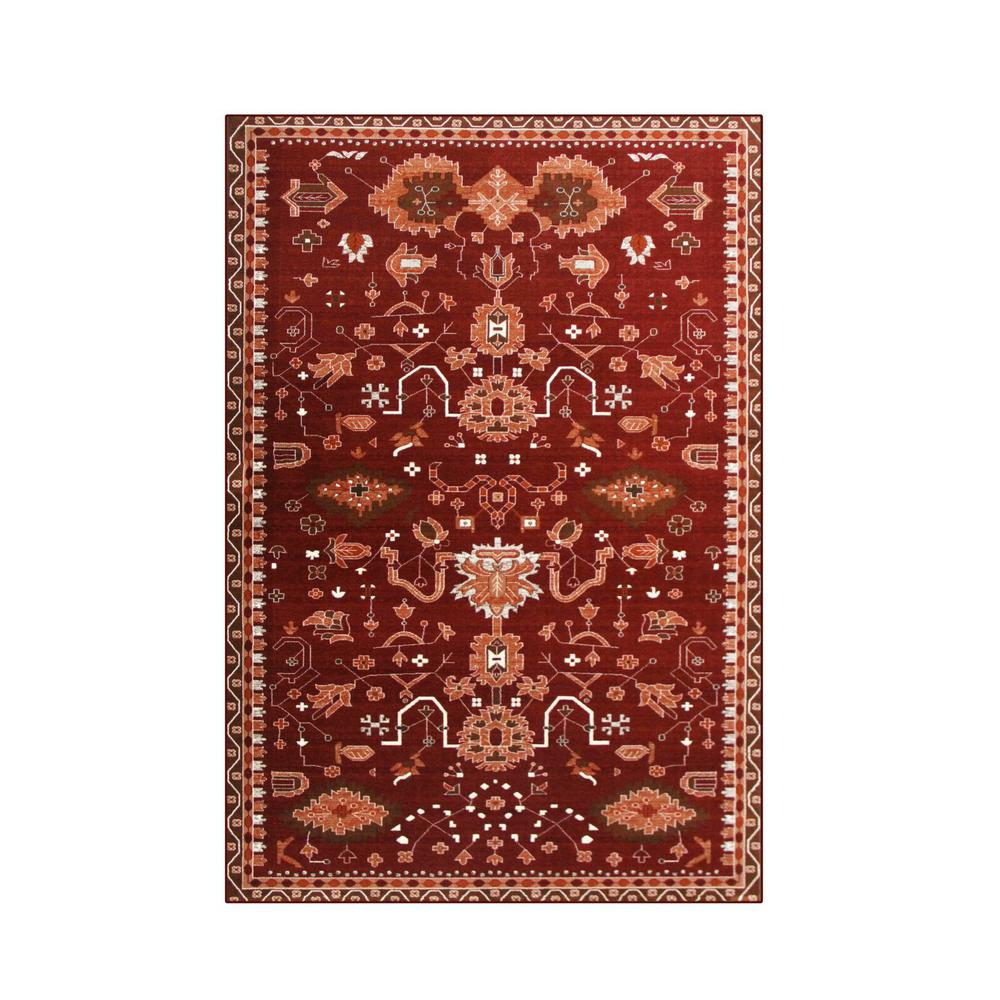 Oasis Red 2 ft. 2 in. x 3 ft. 7 in.
