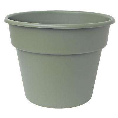 4 x 3.5 Living Green Dura Cotta Plastic Planter