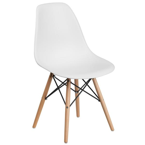 Carnegy Avenue White Side Chair CGA-FH-211484-WH-HD