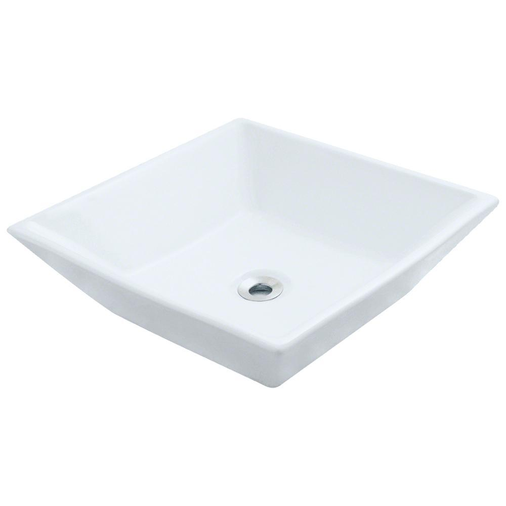 Mr Direct Porcelain Vessel Sink In White