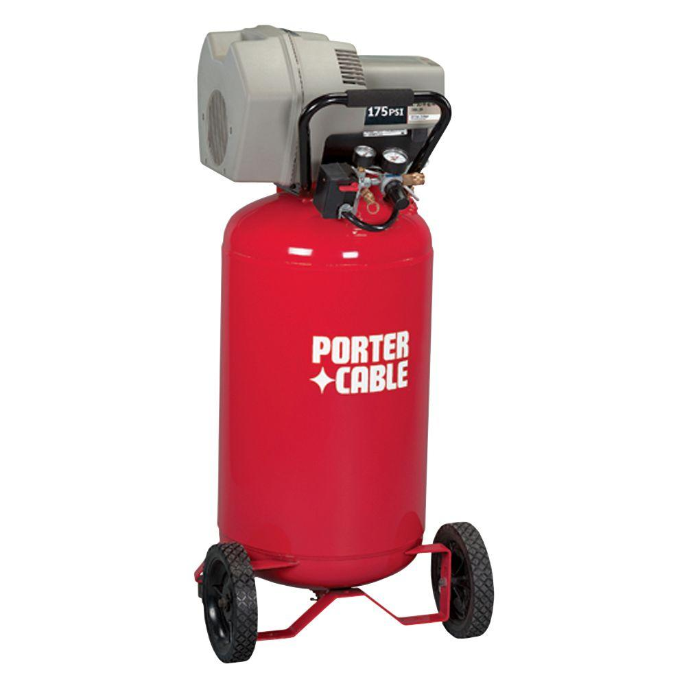 Porter-Cable 25-Gal. Portable Electric Air Compressor-DISCONTINUED