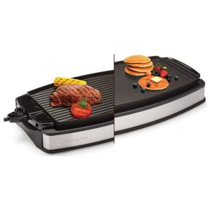 Wolfgang Puck Indoor Electric Reversible Grill and Griddle by Wolfgang Puck