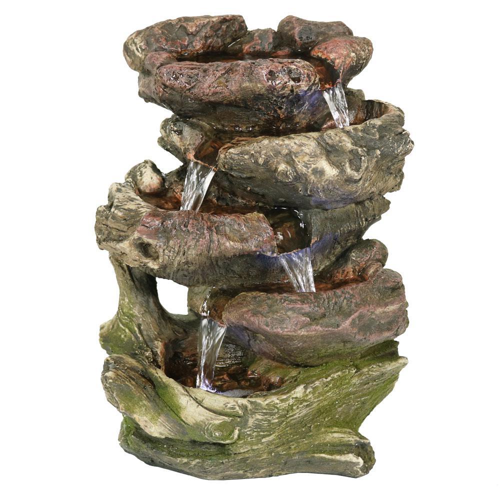 Rock Falls Tabletop Fountain