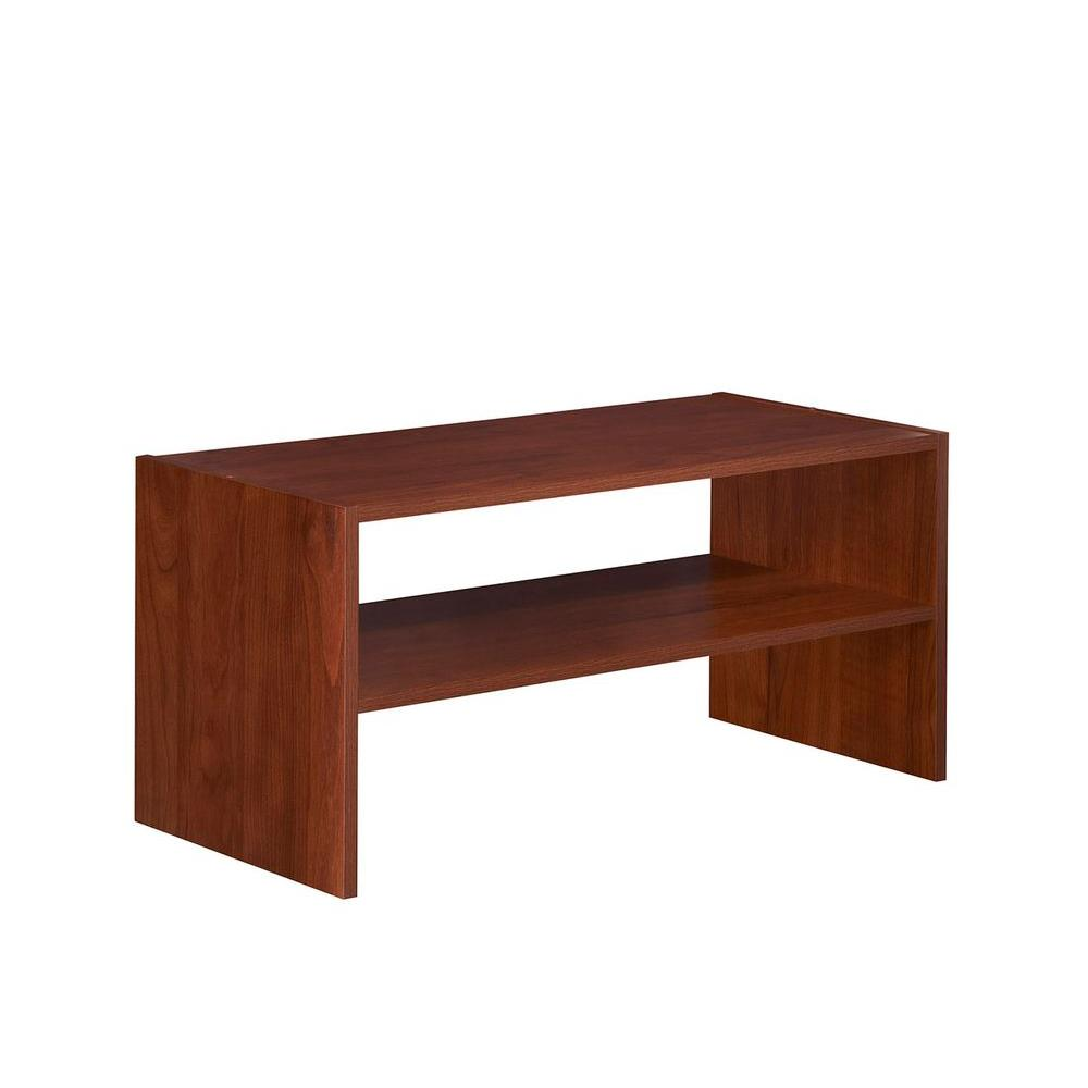 Impressions 11.61 in. x 24 in. Dark Cherry Laminate Horizontal Shelf