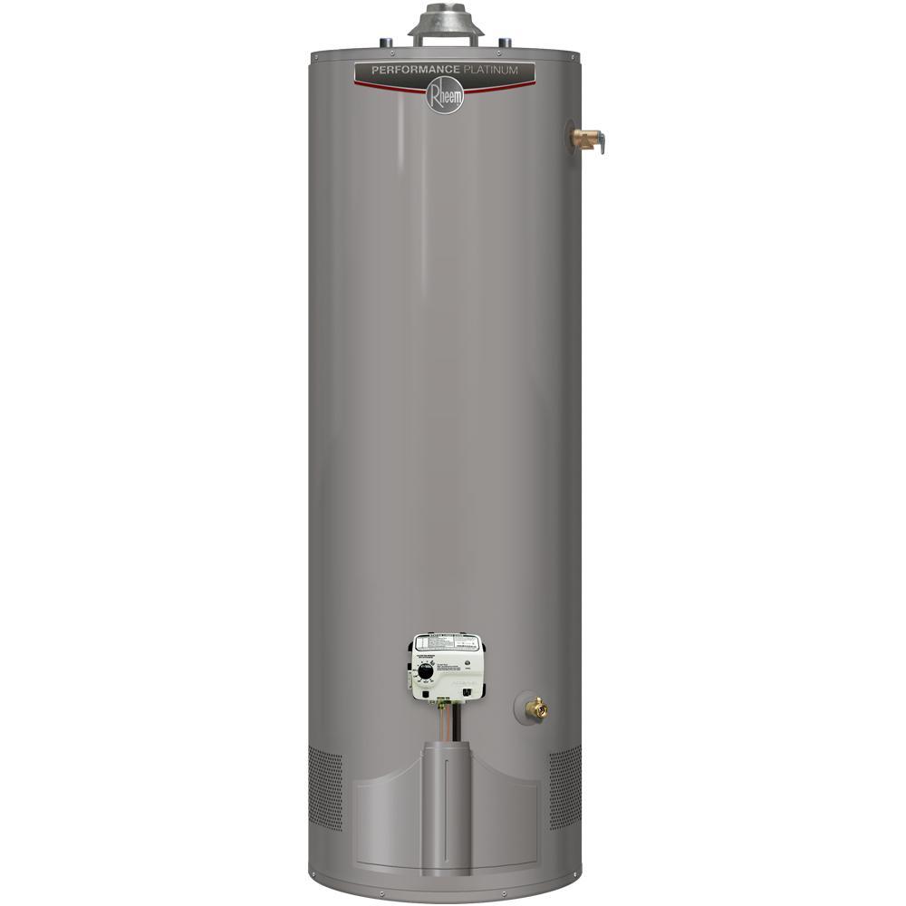 Performance Platinum 50 Gal. Tall 12 Year 38,000 BTU Ultra Low NOx (ULN) Natural Gas Tank Water Heater