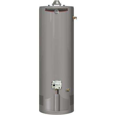 Performance Platinum 40 Gal. Tall 12 Year 38,000 BTU Ultra Low NOx (ULN) Natural Gas Tank Water Heater