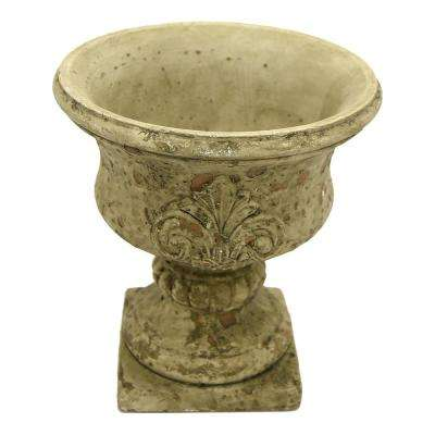 9 in. Grey Footed URN Large