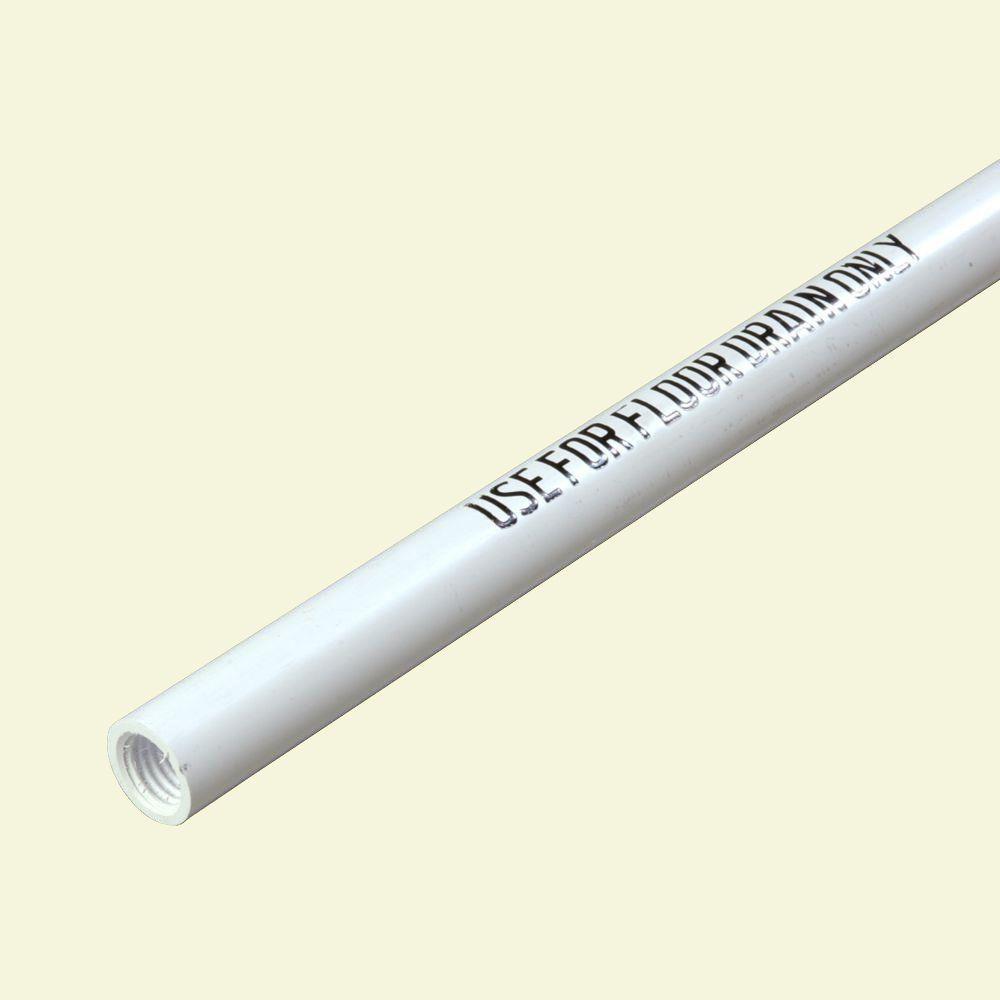 48 in. White Plastic Floor Drain Handle (Case of 12)