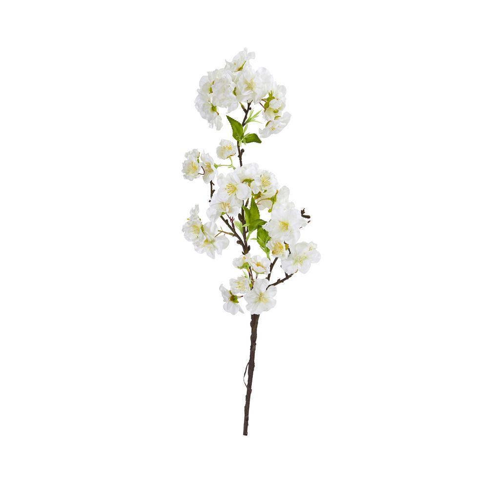 18 in. Cherry Blossom Artificial Flower Spray (Set of 12)