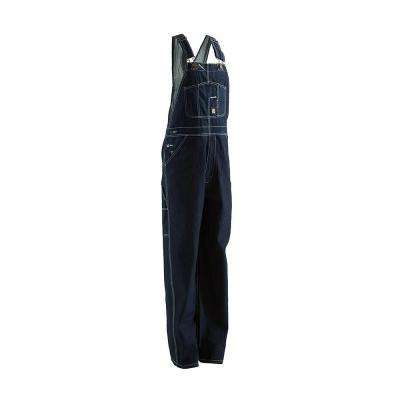 Men's 34 in. x 32 in. Denim 100% Cotton Original Unlined Bib Overall