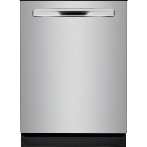 Tall Tub Built-in Dishwasher with Dual OrbitClean Spray Arm in Smudge Proof Stainless Steel, ENERGY STAR, 49 dBA