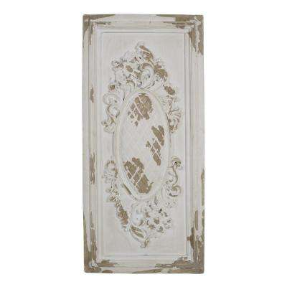 Alcott Antique White Single Decorative Wall Panel