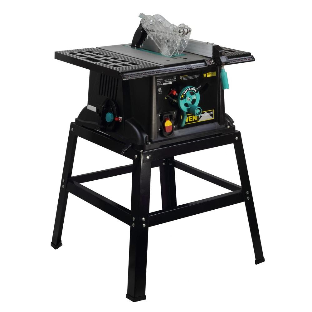 WEN 10 in. Table Saw with Stand-DISCONTINUED
