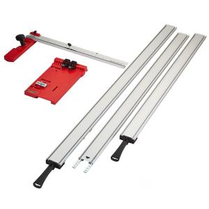 BORA WTX Clamping Straight Edge (5-Piece) with Saw Plate and Rip Handle by BORA