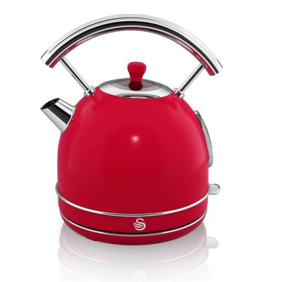 7.2-Cup Retro 1.7 L Red Dome Kettle