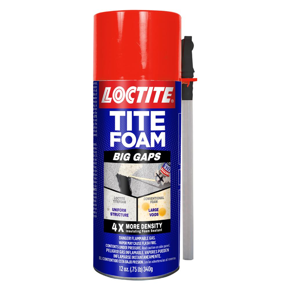 Loctite Tite Foam Big Gaps 12 oz. Insulating Foam Sealant (12-Pack)