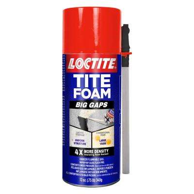 12 oz. Tite Foam Big Gaps Insulating Foam Sealant (12-Pack)