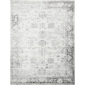 Unique Loom Sofia Casino Gray 9 ft. x 12 ft. Area Rug