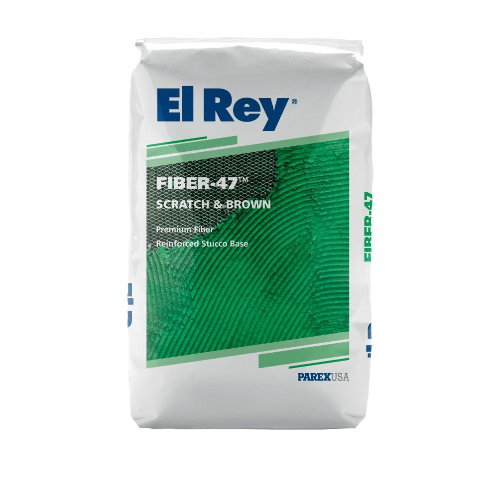 Fiber 47 Stucco Base 90 lb. Concentrate Scratch & Brown Gray