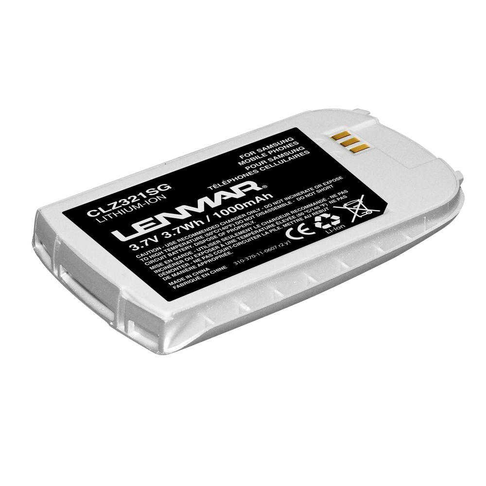 Lenmar Lithium-Ion 1000mAh/3.7-Volt Mobile Phone Replacement Battery