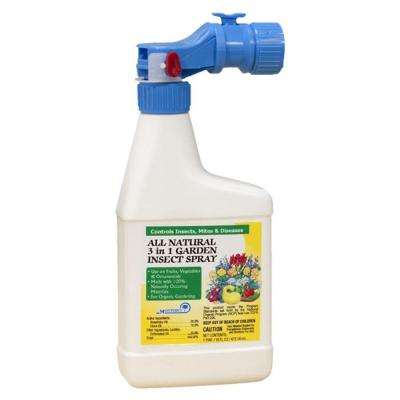 16 oz. All Natural 3-in-1 Garden Insect Control