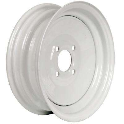 12x4 4-Hole 12 in. Steel Trailer Wheel/Rim