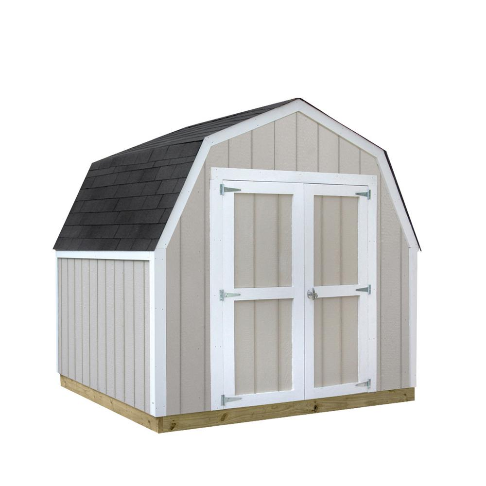 sheds usa installed val u shed 8 ft x 8 ft smart siding shed