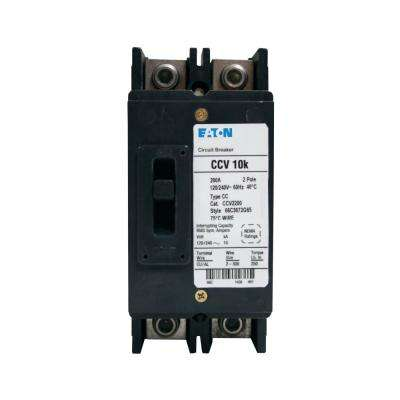 200 Amp Main Circuit Breaker for Type ECC Enclosures