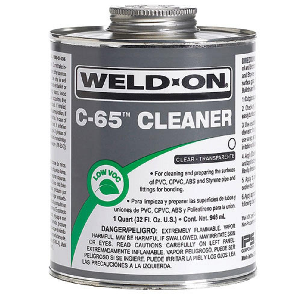 Weld-On 16 oz. PVC 790 Multi-Purpose Cement in Clear