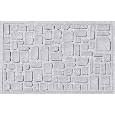 Stone Path White 24 in. x 36 in. Polypropylene Door Mat